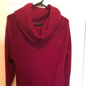 Swoop neck sweater